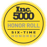 Inc 5000 Six Time Honoree