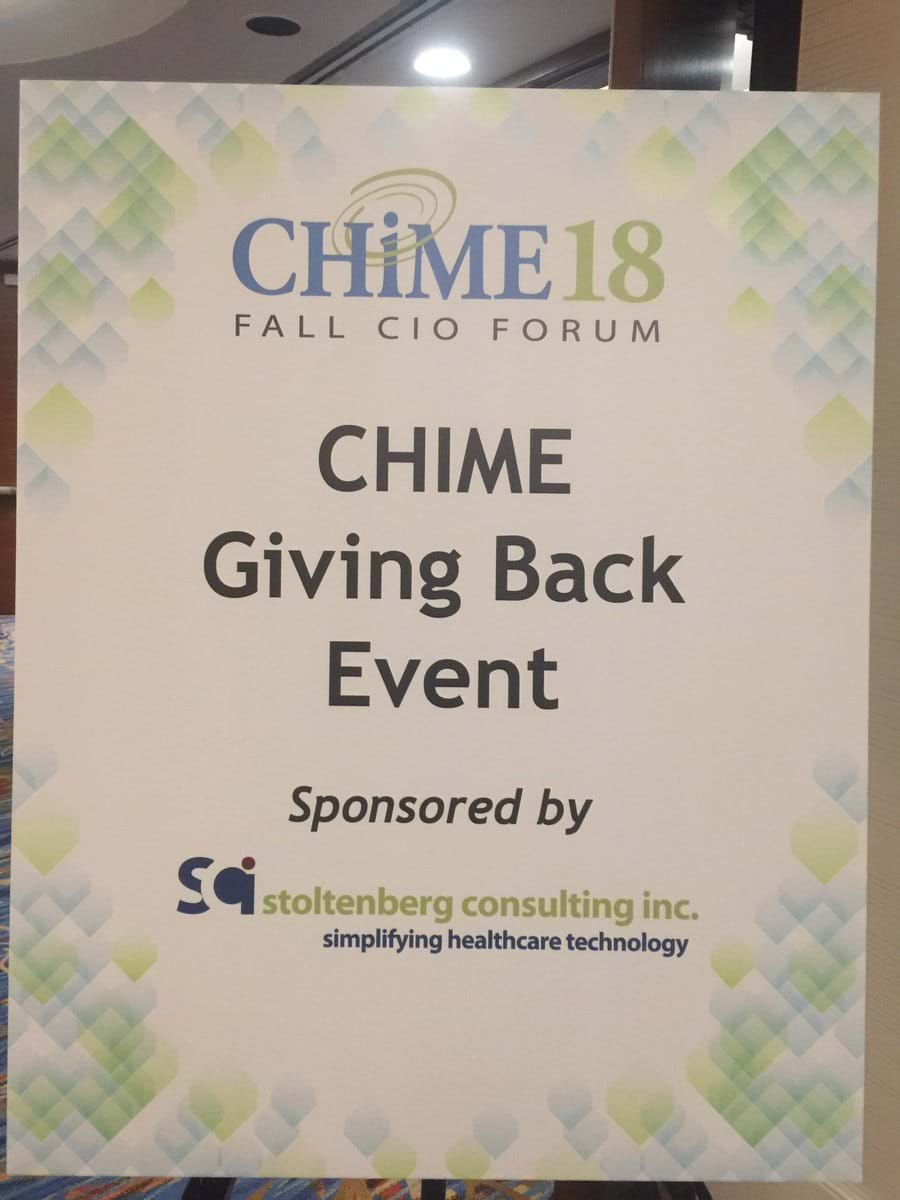 CHIME18 Event
